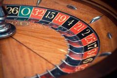 рулетка казино 3d представленная изображением Стоковая Фотография