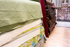 Рулоны ткани Стоковая Фотография