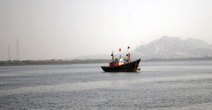 Рыбацкая лодка Стоковое Фото