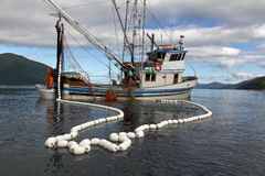 Рыбацкая лодка   Стоковая Фотография RF