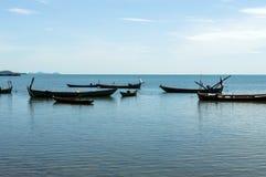 Рыбацкая лодка в море стоковые изображения rf