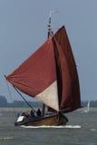 Рыбацкая лодка года сбора винограда Botter Стоковые Фотографии RF