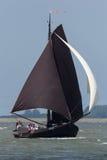 Рыбацкая лодка года сбора винограда Botter Стоковые Изображения