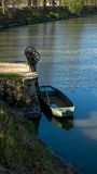 Рыбацкая лодка и сток металла Стоковые Фотографии RF