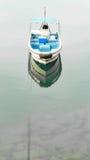 Рыбацкая лодка на озере Стоковые Фото