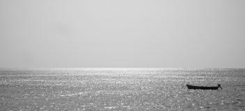 Рыбацкая лодка на Острова Кабо-Верде Стоковые Изображения RF