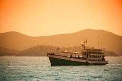 Рыбацкая лодка Стоковая Фотография