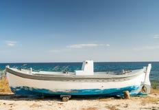 Рыбацкая лодка Стоковое Изображение RF