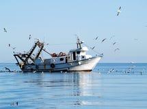 Рыбацкая лодка Стоковое Изображение