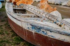 Рыбацкие лодки кладбища Стоковые Фото