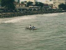Рыбацкие лодки подпирают от моря Стоковое Фото