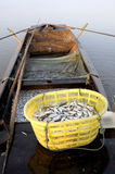 Рыбацкие лодки стоковые фотографии rf