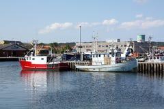 Рыбацкие лодки Стоковые Изображения RF