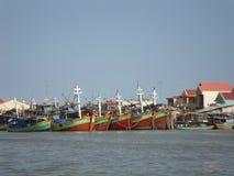 Рыбацкие лодки. стоковое фото rf