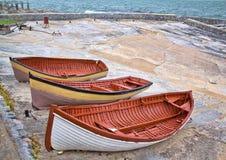 Рыбацкие лодки Стоковая Фотография RF