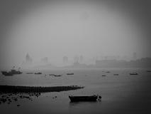 Рыбацкие лодки Qingdao стоковые изображения