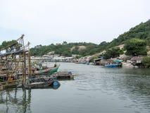 Рыбацкие поселки, рыбный порт стоковая фотография