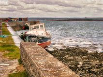 Рыбацкий поселок в графстве Кларе, Ирландии Стоковые Изображения