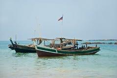 рыбацкий поселок Стоковое Изображение RF
