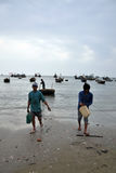 Рыбацкий поселок ne Mui Стоковые Фото