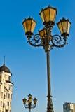 Рыбацкий поселок - света и крыша… Калининград, Россия Стоковое Изображение