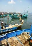 Рыбацкий поселок Стоковые Изображения