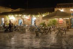 Рыбацкий поселок Marzamemi малый в юговосточных Сицилии - Италии Стоковая Фотография RF