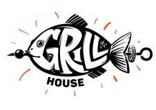 Рыба Дом гриля бесплатная иллюстрация