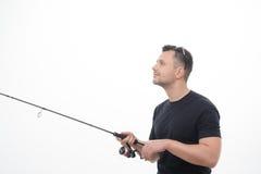Рыбная ловля всегда удовольствие Стоковое Изображение RF