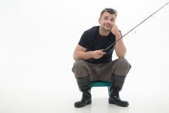 Рыбная ловля всегда удовольствие Стоковая Фотография