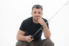 Рыбная ловля всегда удовольствие Стоковые Фотографии RF