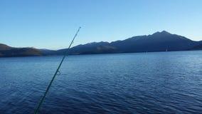 Рыбная ловля горы Стоковые Изображения RF