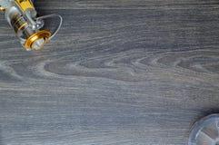 Рыбная ловля и ремонтина катушки Стоковая Фотография RF