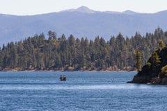 Рыбная ловля Лаке Таюое Стоковые Изображения RF