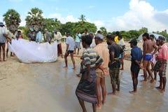 Рыбная ловля, Шри-Ланка Стоковая Фотография RF