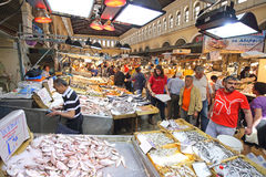 Рыбный базар Афин Стоковые Изображения RF