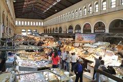 Рыбный базар в Афинах Стоковые Изображения