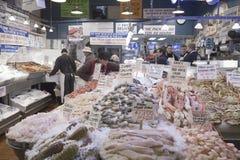 Рыбный базар места Pike, стоковое фото rf