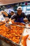 Рыбный базар Сиднея Стоковые Фото