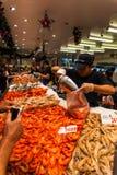 Рыбный базар Сиднея Стоковая Фотография