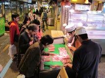 Рыбный базар Япония Иокогамы Стоковые Изображения