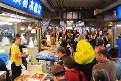 Рыбный базар Япония Иокогамы Стоковая Фотография