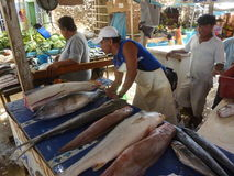 Рыбный базар. Стоковые Изображения