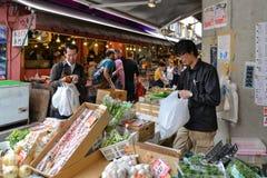 Рыбный базар Tsukiji, токио, Япония Стоковая Фотография