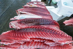 Рыбный базар Tsukiji Стоковое фото RF