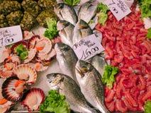 рыбный базар venetian Стоковые Фото