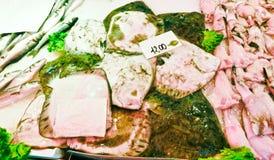 рыбный базар venetian Стоковая Фотография