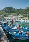 Рыбный порт и marin Стоковое фото RF