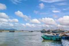 Рыбный порт Стоковая Фотография RF