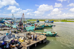 Рыбный порт Стоковые Фото